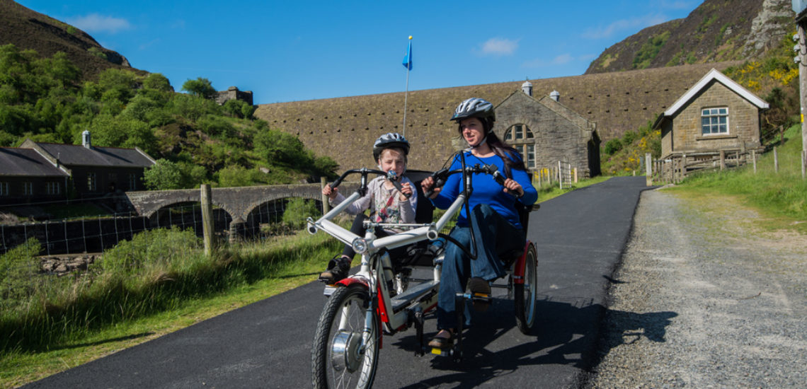 Hire a bike through Mid Wales Holiday Lets