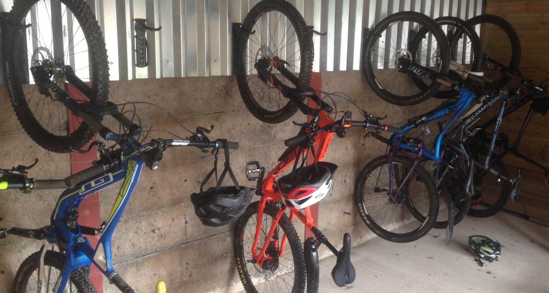 Bike friendly apartment mid wales