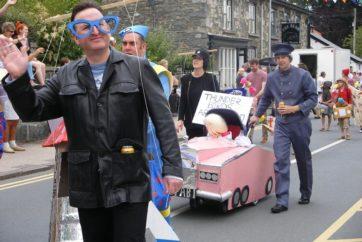 Mid Wales Holiday Lets and Rhayader Carnival