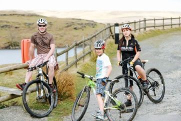 Mountain biking with Mid Wales Holiday Lets