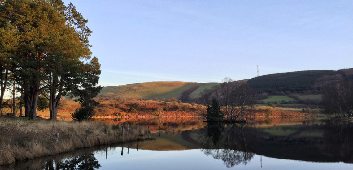 Mid Wales Holiday Lets Fishing breaks in Mid Wales, Rhayader Elan Valley, Llyngwyn Lake