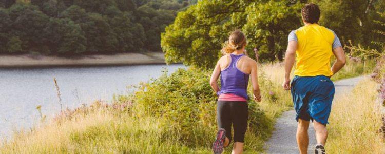 Running in Elan Valley