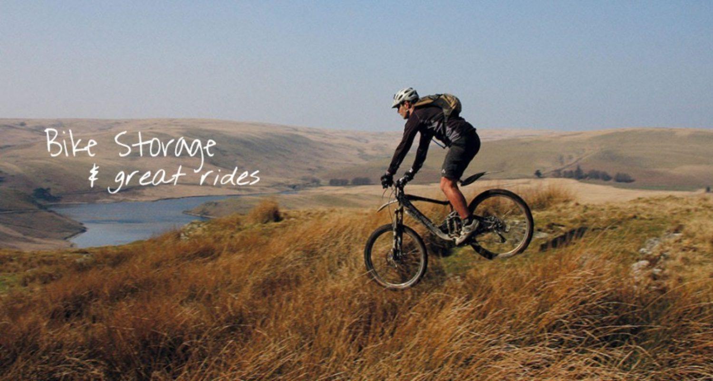 mountain bike in Wales