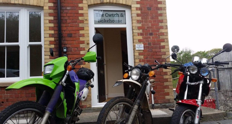 biker friendly accommodation mid wales
