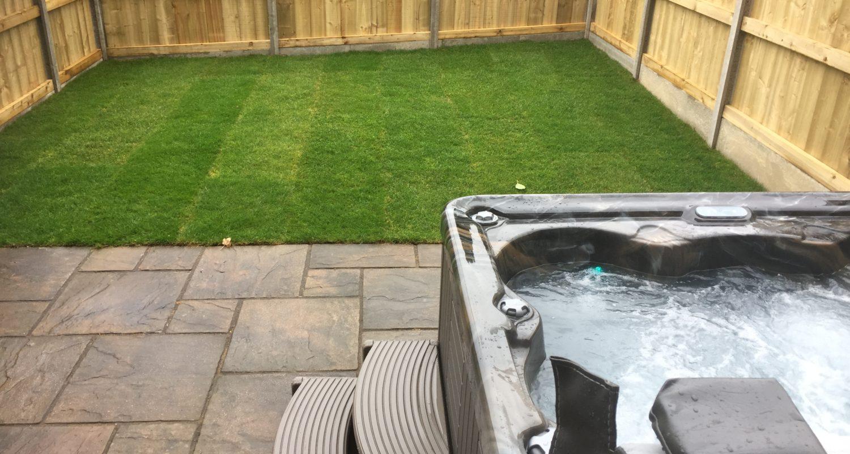 Glandwr House Rhayader Mid Wales Holiday Lets Garden and Hot Tub