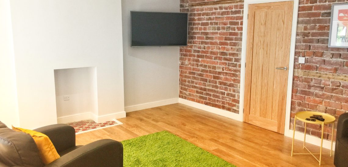 Sleeps 16 living room perfect for group stays at mid wales holiday lets rhayader
