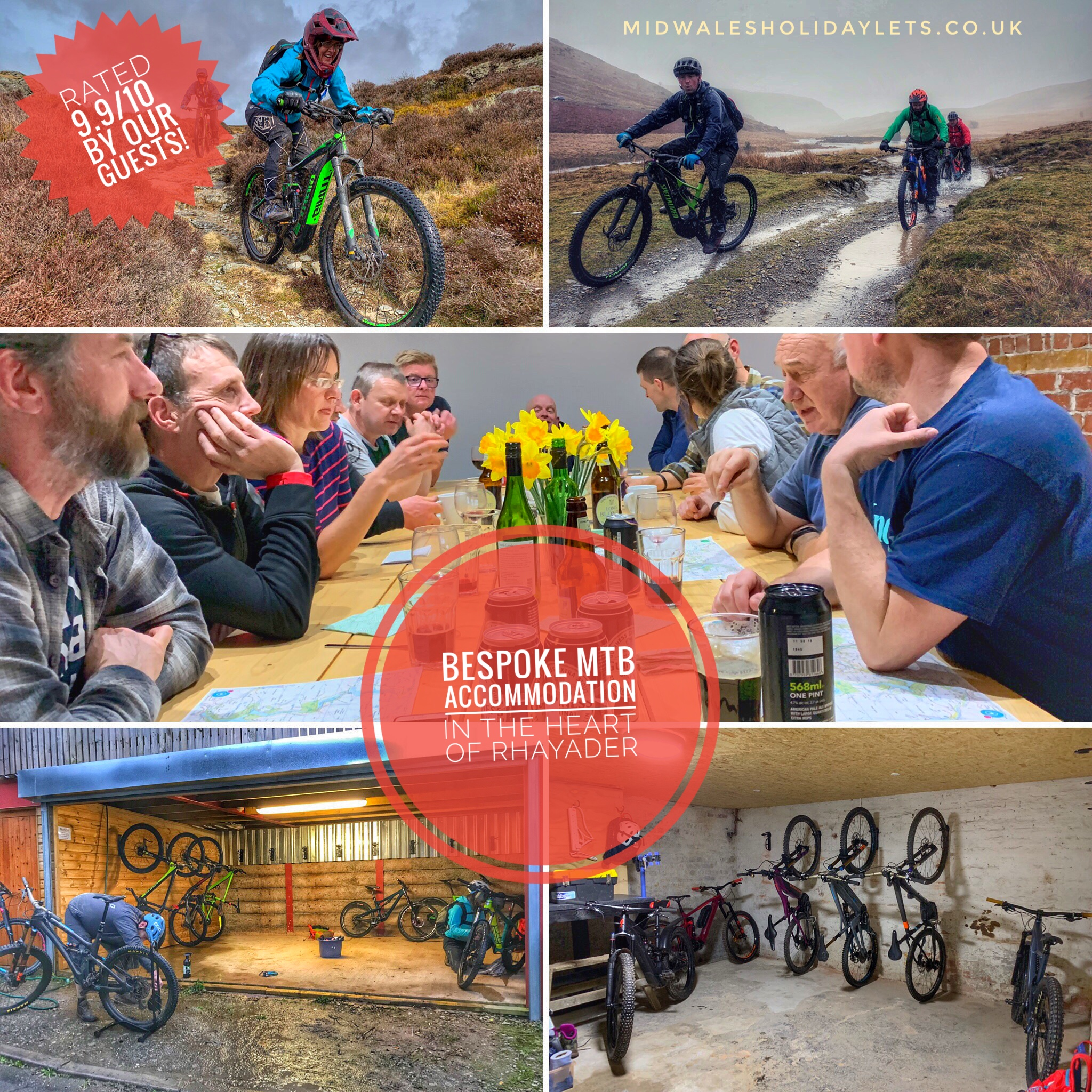 Singletrack magazine mountain bike holidays in mid wales
