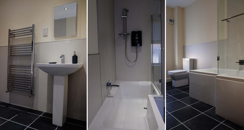 Bathroom at The Bakehouse Mid Wales Holiday Lets Rhayader Elan Valley