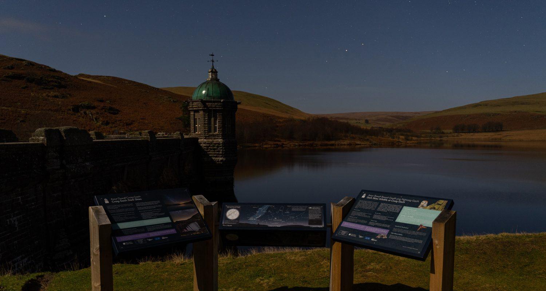 Elan Valley Dark Skies accommodation at Mid Wales Holiday Lets Doorstep Matt Price Credit