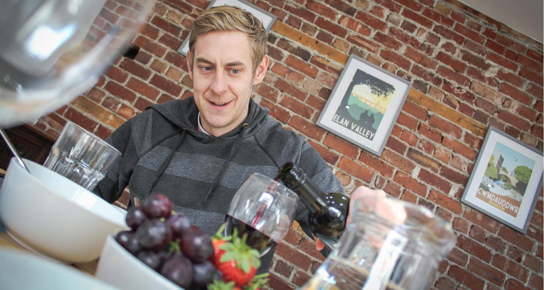 Holiday Wine at Glandwr House Mid Wales Holiday Lets Rhayader Elan Valley