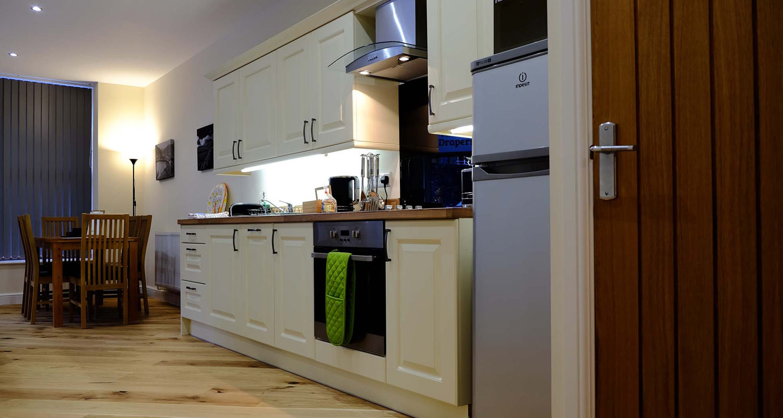 Kitchen at The Old Drapers Mid Wales Holiday Lets Rhayader Elan Valley