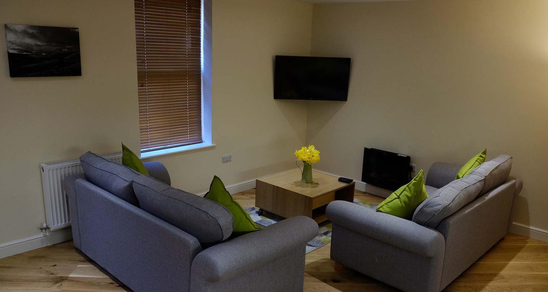 Living Room at The Bakehouse Mid Wales Holiday Lets Rhayader Elan Valley