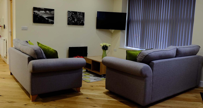 Living Room at The Old Drapers Mid Wales Holiday Lets Rhayader Elan Valley