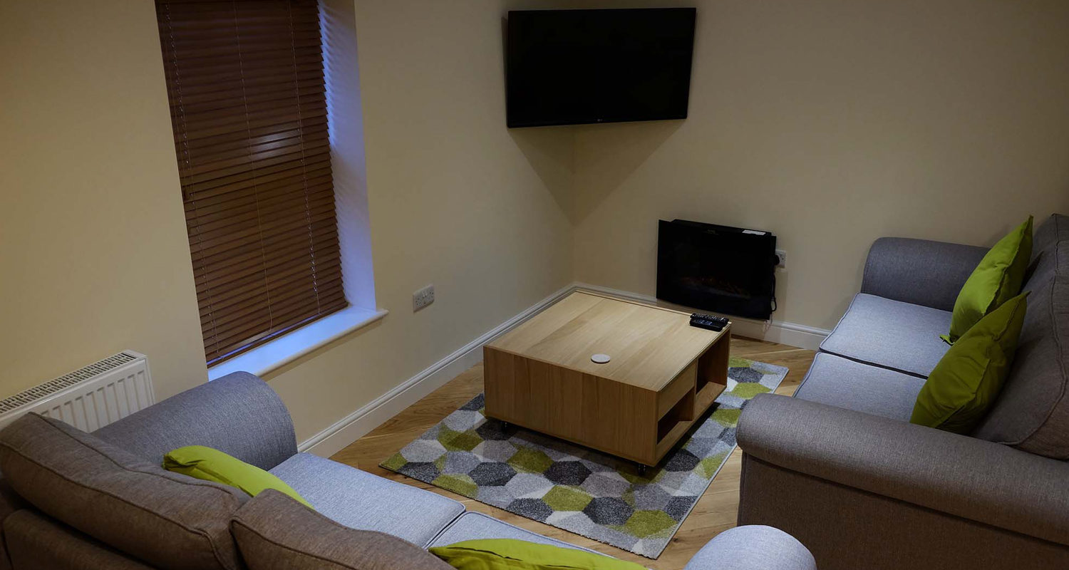 Living Room at The Cwtch Mid Wales Holiday Lets Rhayader Elan Valley