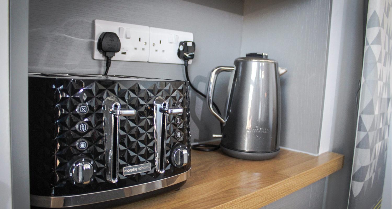 Piece of toast at Glandwr House Mid Wales Holiday Lets Rhayader Elan Valley