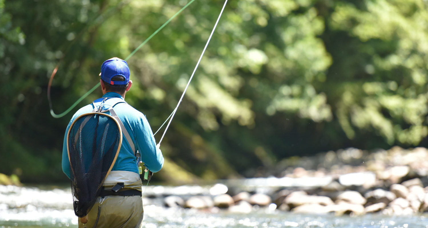 River Fishing on the Wye Fly Fishing Breaks at Mid Wales Holiday Lets Rhayader, Elan Valley Marteg