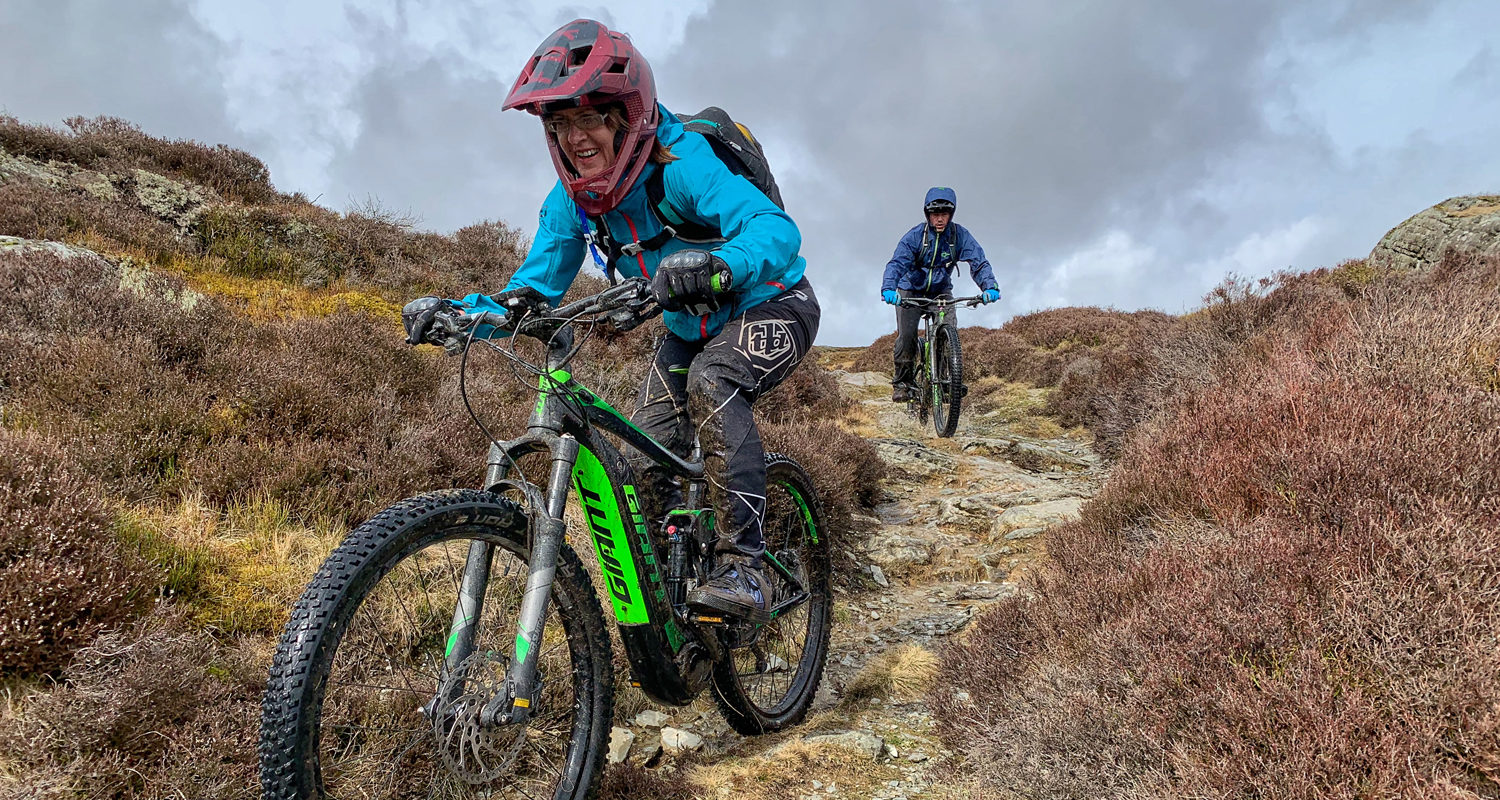 Single Track Mtb Breaks at Mid Wales Holiday Lets Rhayader, Elan Valley E-Mtb