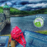 Unfortunately too much cloud to experience the @darkskywales @idadarksky today! But the #elanvalley is looking epic once again! Come and visit and stay in #luxuryapartments #rhayader #cambrianmountains #hottub #sauna #mtb #walking #deuter #croeso #cymru